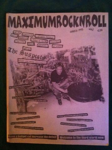 Maximum Rocknroll #142