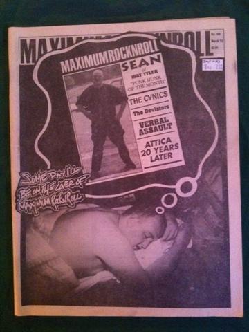 Maximum Rocknroll #106