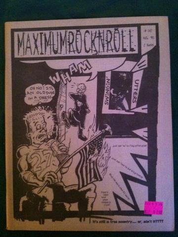 Maximum Rocknroll #147