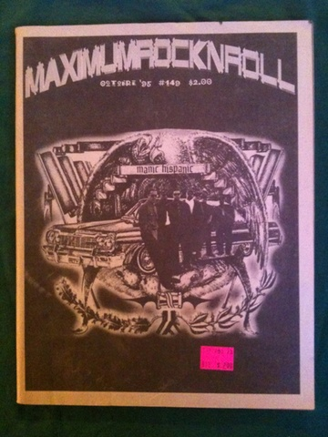 Maximum Rocknroll #149