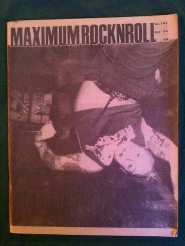 Maximum Rocknroll #101