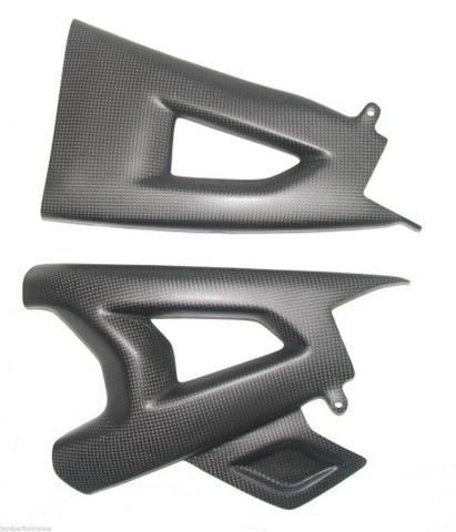 2011- ZX10R カーボン フレーム&スイングアーム カバー