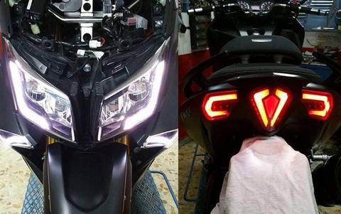 T-MAX 530 LEDデイライト+HIDプロジェクター キット