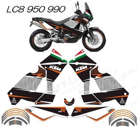 KTM LC8 950/990 グラフィック デカール