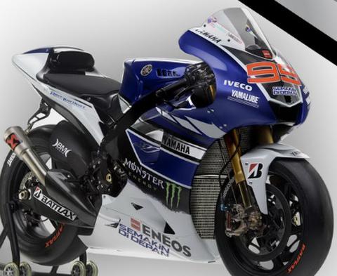 MotoGP ヤマハ YZR-M1 グラフィックステッカー