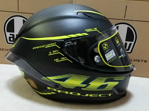 AGV Pista GP Project46 2.0 V.Rossi ロッシ