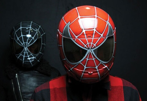 スパイダーマン ヘルメット