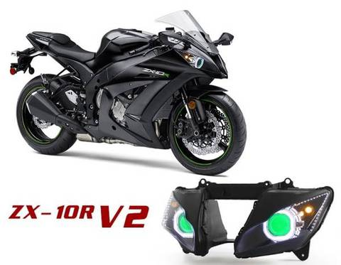 ZX10R 11-15 HIDプロジェクターキット Ver.2