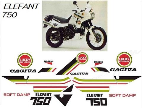 cagiva/カジバ カスタム グラフィック ステッカー