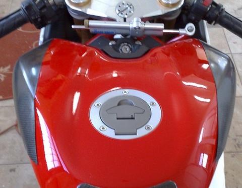 Ducati 1198/1098/848 カーボン タンクプロテクター