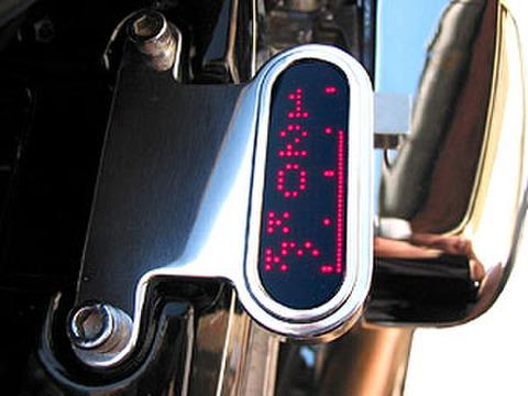 ハーレー/ビューエル LED デジタルスピードメーター