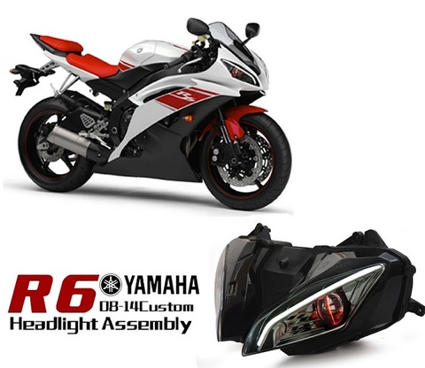 YZF-R6 HID プロジェクターキット Ver.2