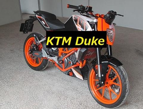 KTM Duke 125/200/390 エンジンガード/クラッシュガード