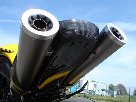 MT-01 カーボン アンダーテールカバー