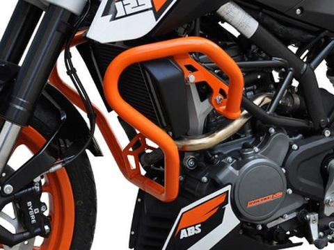 KTM Duke 125/200/390 エンジンガード/クラッシュバー