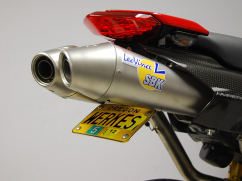 Competition Werkes フェンダーレス Ducati ハイパーモタード 1100/796