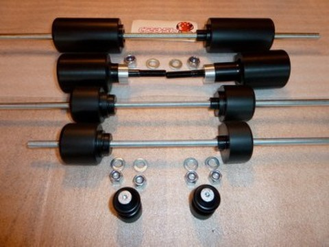 S1000RR  デイトナ スピードトリプル スライダー セット