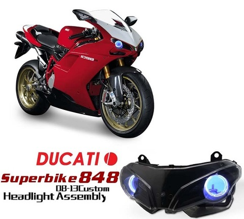 Ducati 848/1098 HIDプロジェクターキット