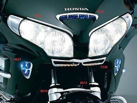 KURYAKYN GL1800 ゴールドウイング F6B LED フロントグリル