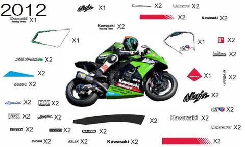 ZX10R SBK グラフィック デカール ステッカー