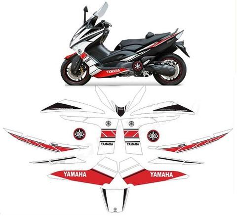 T-max 500 グラフィック デカール/ステッカー 2