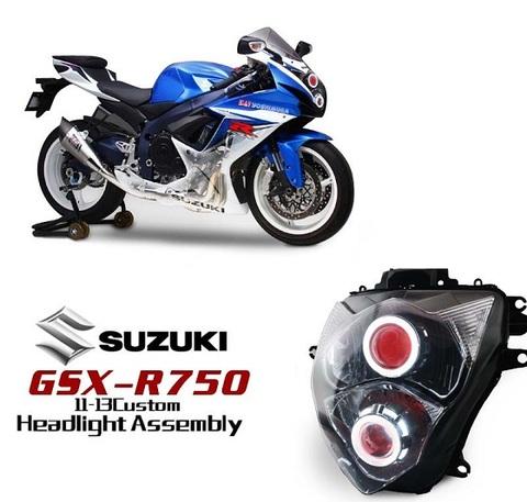 GSX-R600 HID プロジェクターキット