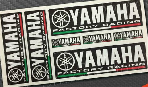 ヤマハファクトリー レーシングステッカー 2