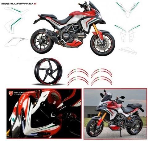 Ducati ムルティストラーダ グラフィックデカール ステッカー