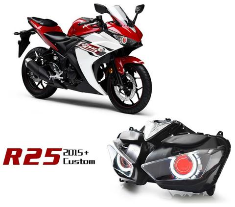YZF-R25/R3 HID プロジェクターキット