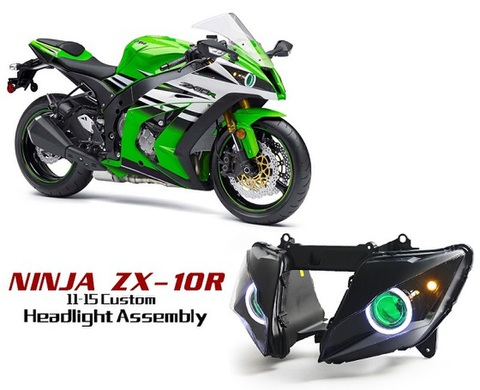 ZX10R 11-15 HIDプロジェクターキット Ver.1
