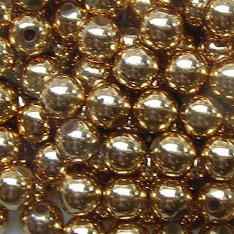 電鍍圓珠 6mm 4個入