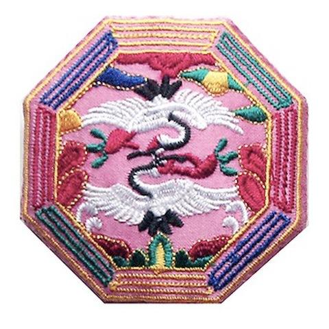 刺繍ビーズー八角形ー薄ピンク