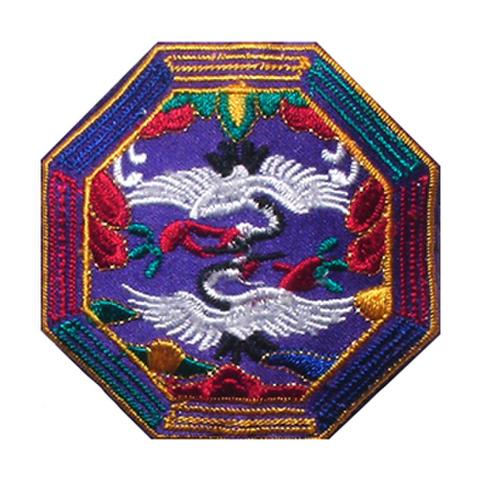 刺繍ビーズー八角形ー紫