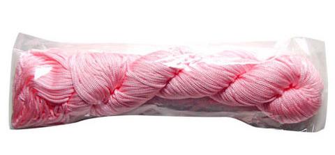 文化線 薄いピンク色