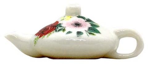 陶器ビーズ -茶器