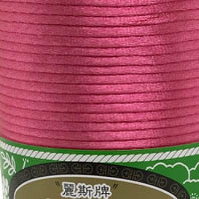 4号線 濃いピンク色ラメ無 1m