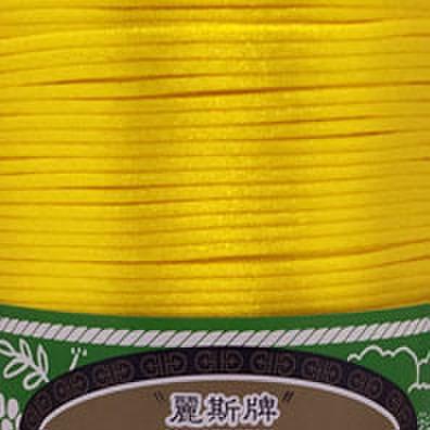 5号線 濃い黄色ーラメ無し 1m