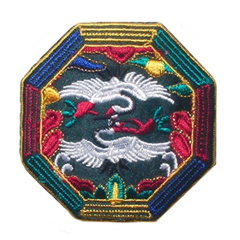 刺繍ビーズー八角形ー緑