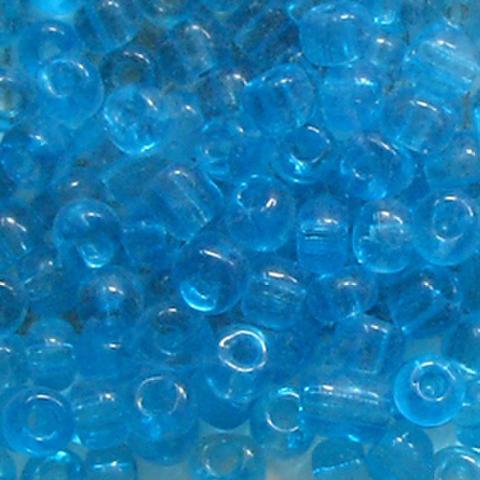 ビーズ4mm 青10g