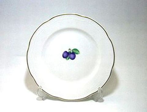 リチャードジノリ・ボンジョルノプルーン 20cmプレート 30%Off