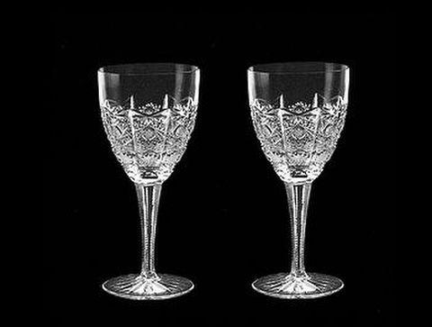 ボヘミア・ピン「ニズボウル」 【PK500レッドクリスタル】  ワイングラス130ペア 30%Off