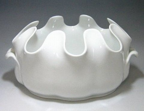 リチャードジノリ・ベッキオホワイト 30cmオーバルワインクーラー  5456 30%Off