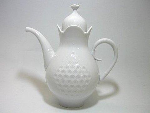マイセン 【ホワイトレリーフ】 コーヒーポット 1.0L  20%Off