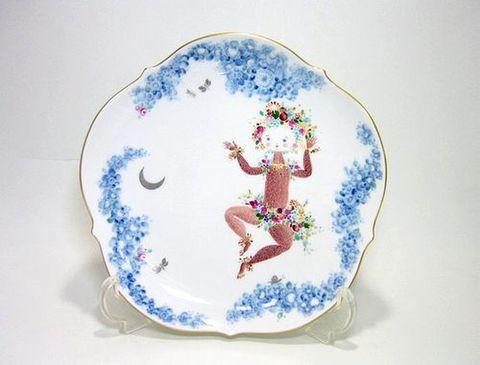 マイセン 【真夏の夜の夢 ミッドサマー・ナイト・ドリーム】  18cmプレート-1 15%Off
