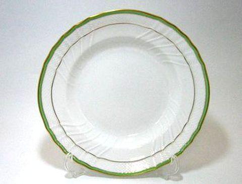 リチャードジノリ・ベッキオ・ジェンマ(翡翠) 24cmスーププレート 30%Off