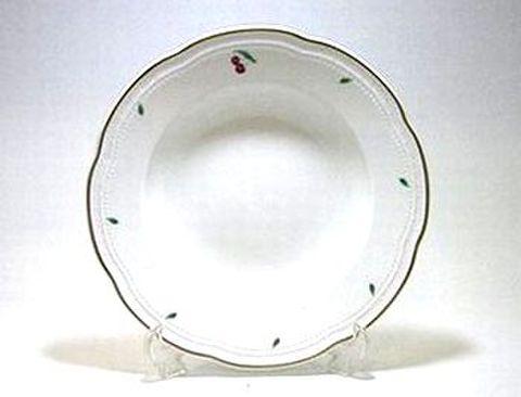 リチャードジノリ・ボンジョルノチェリー 24cmスーププレート  30%Off