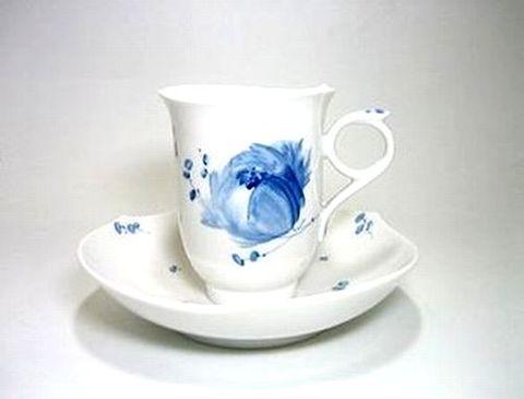 マイセン 【青い花・614701】 コーヒーC/S・180cc 15%Off