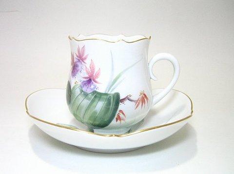 マイセン 【水辺の花・500310】  コーヒーC/S・23582-11 20%Off