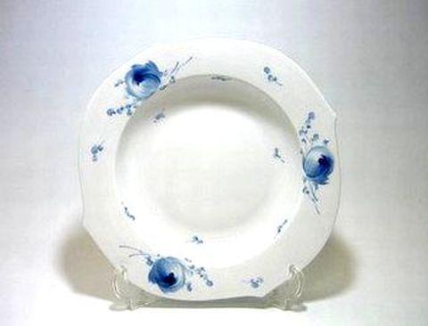 マイセン 【青い花 614701】 23.5cmスーププレート・28488 20%Off