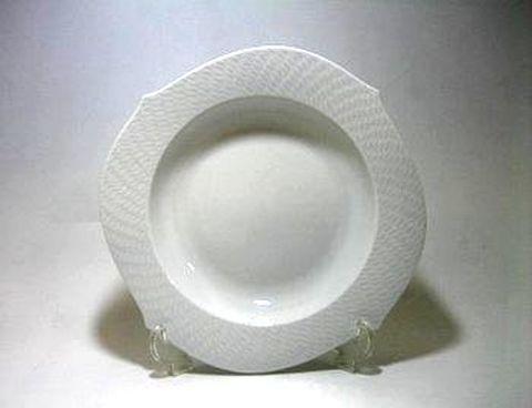 マイセン・波の戯れホワイト・000000 23.5cmスーププレート・29488 25%Off